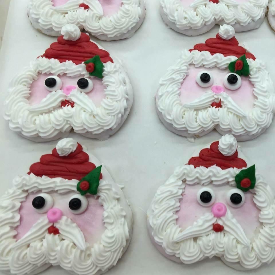 Decorated Cookies Santa Faces 1 2 Dozen The Pennsylvania Bakery